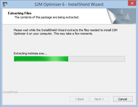 S2M Optimizer Installation Step 2