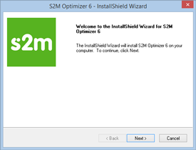 S2M Optimizer Installation Step 3