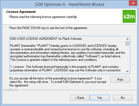S2M Optimizer Installation Step 4